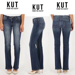 Kut From The kloth NWT Women High Rise Bootcut 12